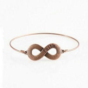 Keep the Faith cooper bracelet